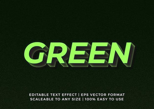 Efeito de texto de título gráfico em negrito 3d