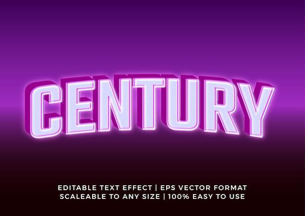 Efeito de texto do título da marca do banner 3d