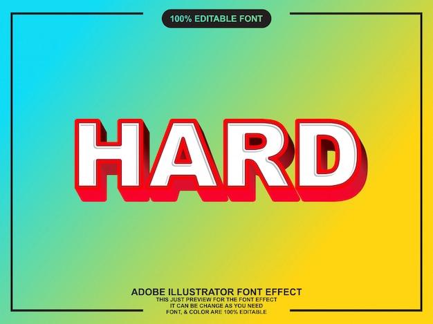 Efeito de texto editável de estilo gráfico em negrito