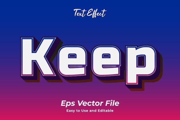 Efeito de texto editável e fácil de usar vetor premium