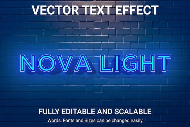 Efeito de texto editável - estilo de texto vitória