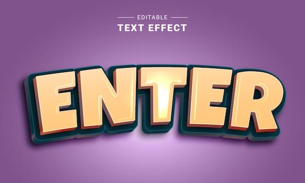 Efeito de texto editável para ilustrador