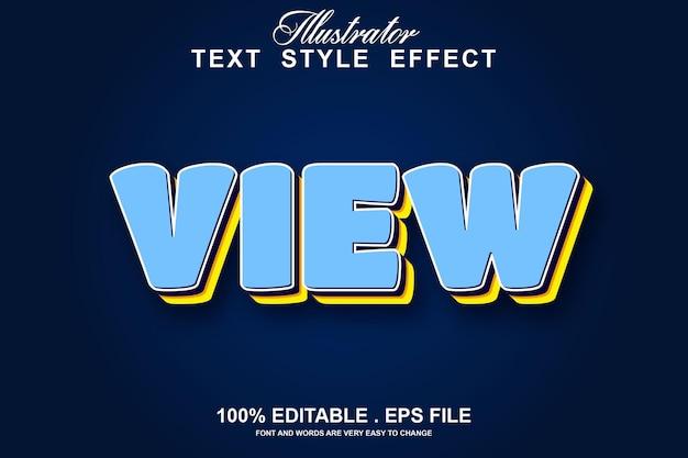 Efeito de texto editável