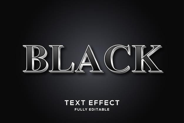 Efeito de texto em negrito elegante