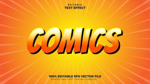 Efeito de texto em quadrinhos