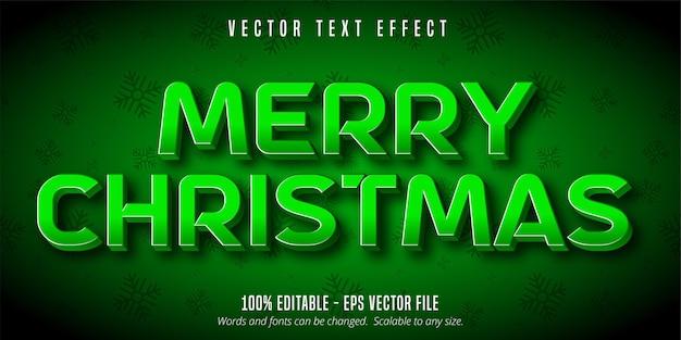 Efeito de texto feliz natal