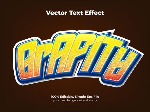 Efeito de texto grafite néon