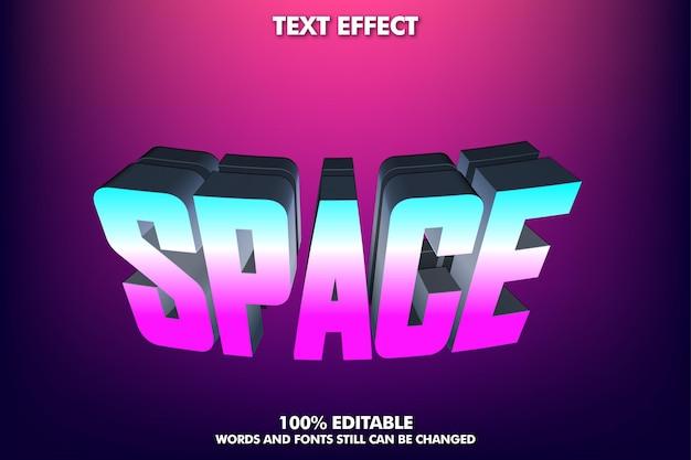 Efeito de texto moderno para a cultura moderna