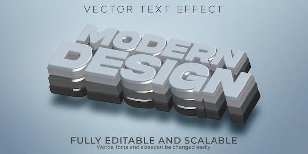 Efeito de texto moderno