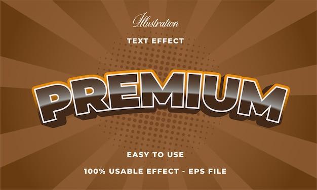 Efeito de texto premium