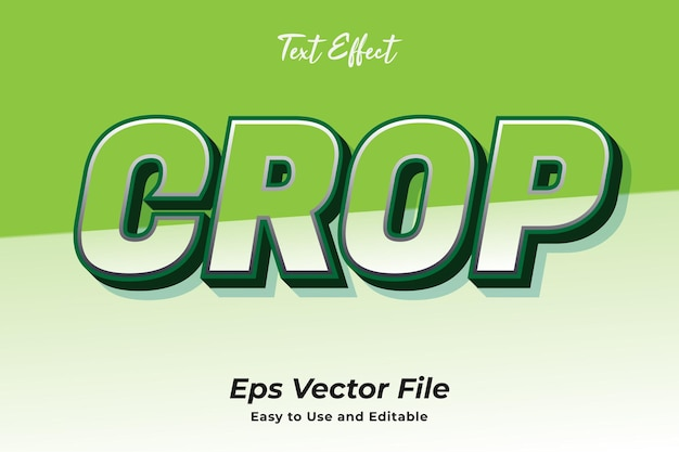 Efeito de texto recorte editável e fácil de usar vetor premium