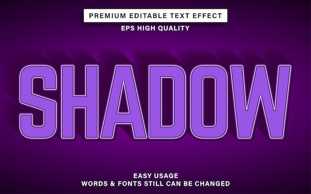 Efeito de texto sombra