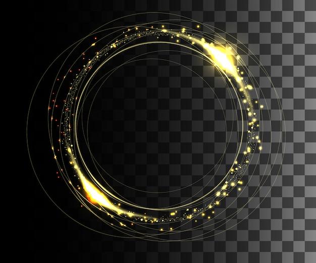 Efeito transparente branco brilhante, reflexo de lente, explosão, brilho, linha, flash solar, faísca e estrelas. para ilustração de arte de modelo, para comemorar o natal, raio de energia mágica de flash