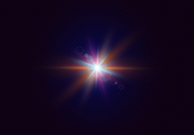 Efeitos de brilho com bokeh, partícula de brilho