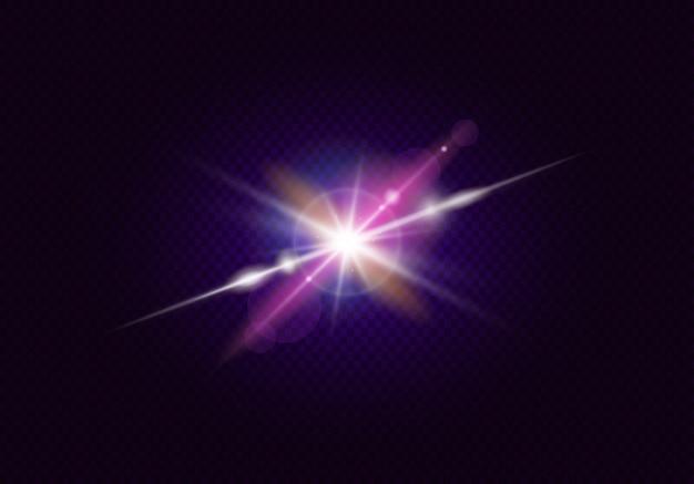 Efeitos de brilho com bokeh