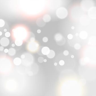 Efeitos de luz cintilantes abstratos
