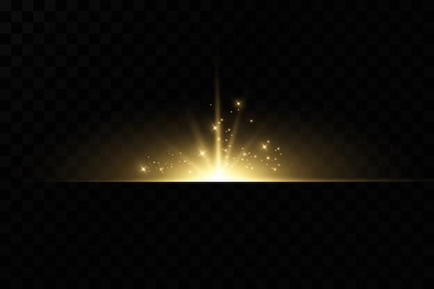 Efeitos de luz de fundo