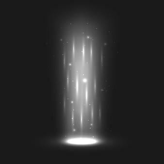 Efeitos de luz mágicos