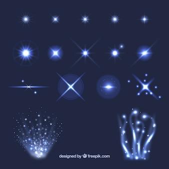 Efeitos de luz