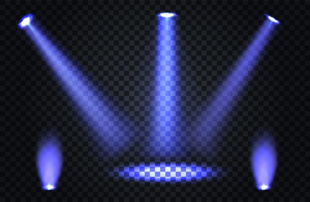 Efeitos transparentes sobre um fundo escuro xadrez
