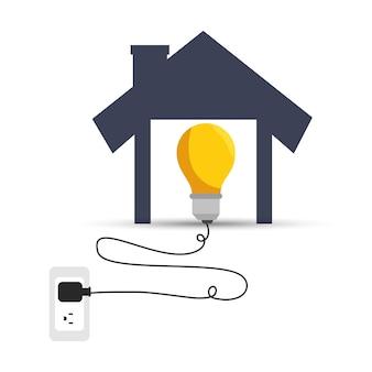 Eficiência energética do ícone