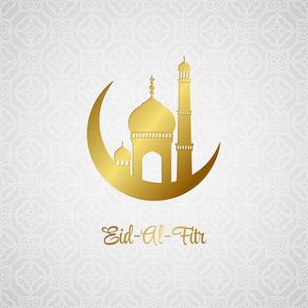Eid al fitr. plano de fundo de eid mubarak
