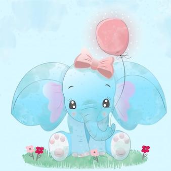 Elefante bébé