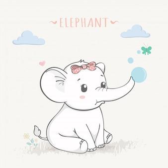 Elefante, ilustração
