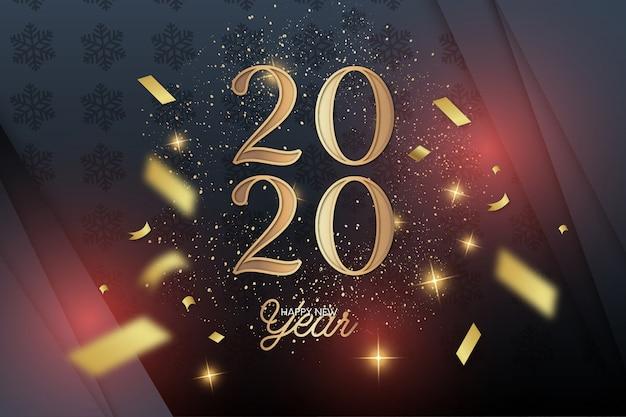Elegante ano novo 2020