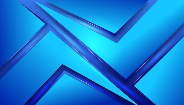 Elegante elegante vítreo abstrato azul design