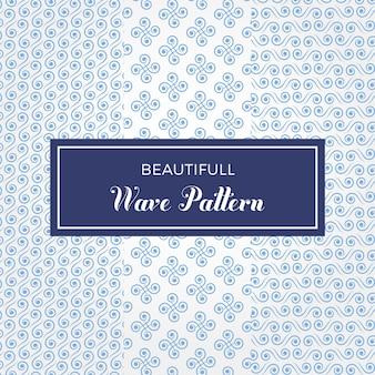 Elegante wave pattern vector set