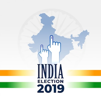Eleição indiana 2019 banner design