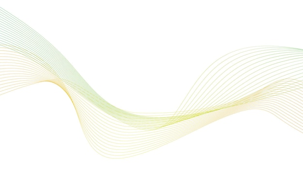 Elemento abstrato da onda colorfull para o projeto.
