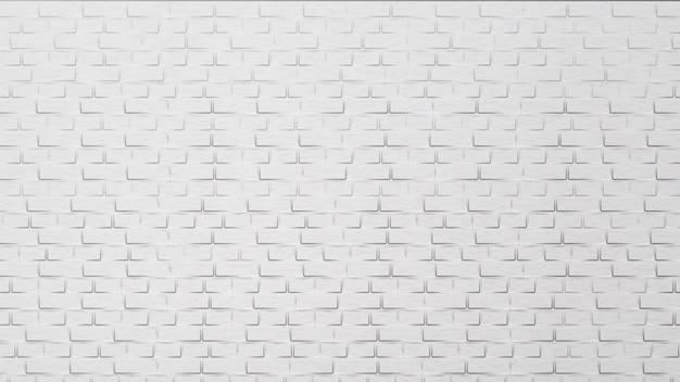 Elemento de construção de parede de tijolo branco moderno
