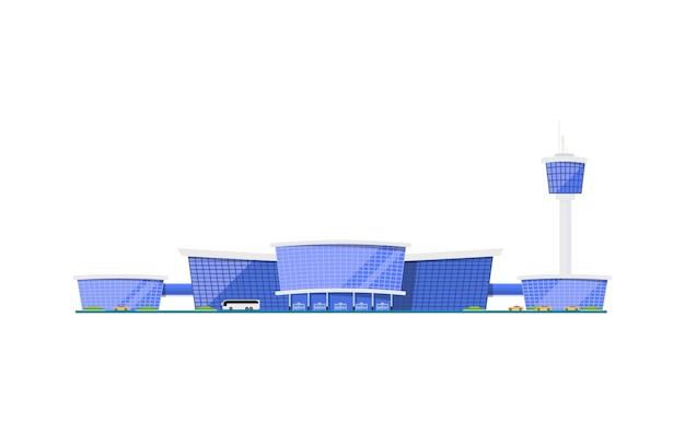 Elemento de construção de terminal de aeroporto internacional