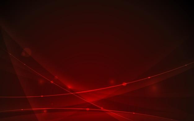 Elemento de curva de linha futurista abstrata