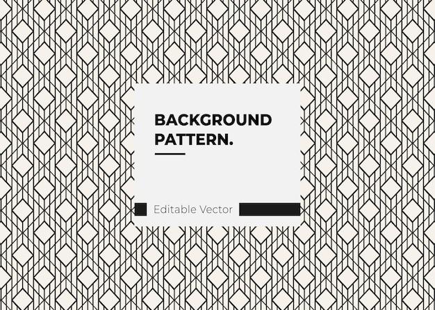 Elemento de design de estilo moderno de textura de linha decorativa padrão