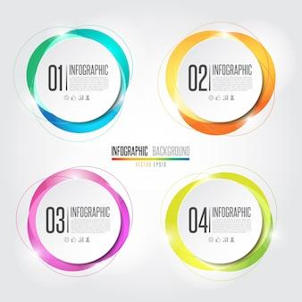 Elemento de design de infografia