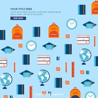 Elemento de educação plana