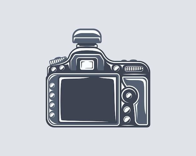 Elemento de estúdio fotográfico isolado em cinza