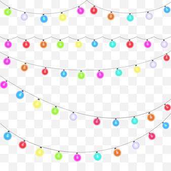 Elemento de festão para fundo festivo.