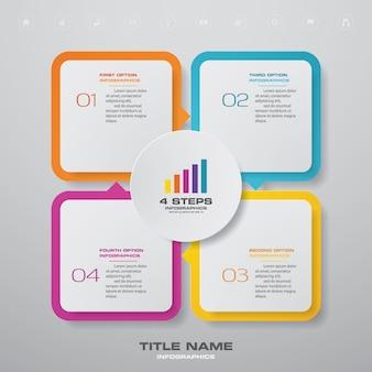 Elemento de infográficos do gráfico.