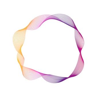 Elemento gráfico moderno abstrato de vetor.