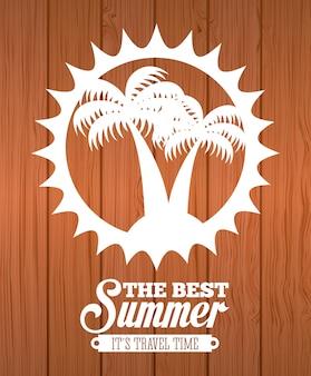 Elemento simples de verão