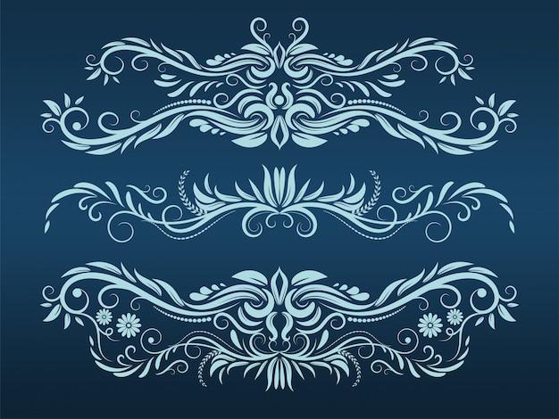 Elemento vintage padrão