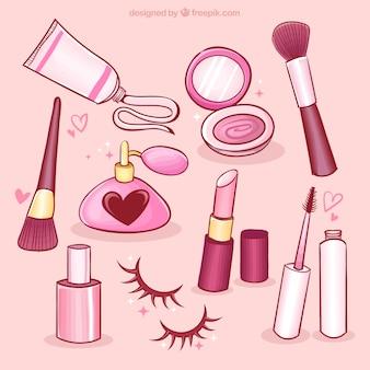 Elementos bonitos de beleza