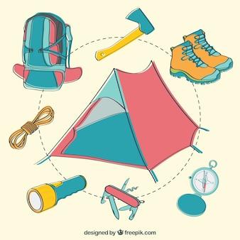 Elementos camping set