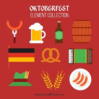 Elementos clássicos da festa alemã
