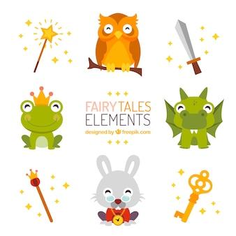 Elementos contos de fadas