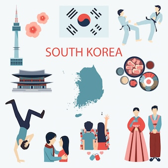 Elementos da coreia